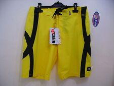 Shorts Tom Caruso beach tennis Miami Yellow Yellow Black Size 32