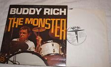 LP: Buddy Rich - The Monster - Verve 2 V6S-8824 (1973) Disc Jockey Record promo
