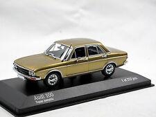 Minichamps 430019160 - 1969 Audi 100 Limousine Topas metallic 1/43 Limitiert