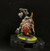 Well Painted Warhammer Age of Sigmar. Maggot kin of Nurgle Lord of Blights