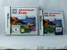 Was ist Was: Abenteuer Erde für Nintendo DS/Lite/XL/3DS - OVP+Anl. - Sehr gut