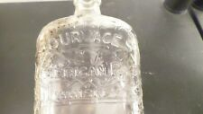 Vintage Four Aces American Rye Whiskey Bottle