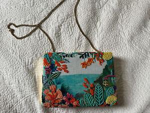 Funky Accessorize Beaded Shoulder Bag Clutch Bag