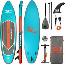 """Swonder Premium Inflatable Stand Up Paddle Board 11.6"""" x 32"""" w/ Full SUP Pack"""