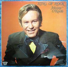 JOHNNY O'KEEFE LP- King of Rock- Horizon Australia- 1971- Cat. No: SH66.94064