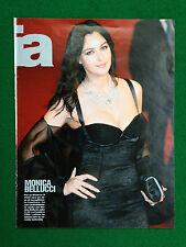CC144 Clipping Ritaglio (2010) - MONICA BELLUCCI (retro Vittoria Puccini)