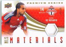 "DWAYNE DE ROSARIO ""PATCH CARD 22/35"" UD MLS SOCCER 2010"
