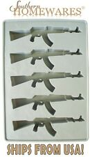 AK47 Gun Ice Cube Tray - Jelly Mould - Parties, Events, and Hunting Enthusiasts!