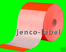 FR4600R, 500 4x6 Red Fluorescent Color Code Label