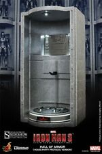IRON MAN 3 Hall of Armor (House Party Protocol Version) – HOT TOYS No SIDESHOW