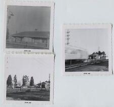 3 1959 Merillon Avenue LIRR  Station New Hyde Park Vintage photos