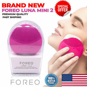 FOREO LUNA MINI 2 Face cleansing brush ,With Real LOGO, USB Charging, WATERPROOF