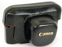 CANON Rangefinder Model 7 Camera fit Leather Case = well used, but ORIGINAL!