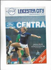 LEICESTER CITY V CRYSTAL PALACE 2/01/1988 DIVISION 2   (6)