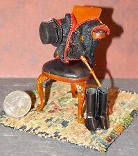 Dollhouse Miniature Bespaq Circus Ringleader Valet Chair 1:12 1 inch scale F57