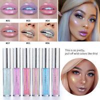 HANDAIYAN Waterproof Glitter Lip Gloss Liquid Long Lasting Lipstick Cosmetic