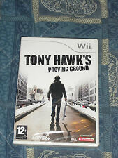 WII : TONY HAWK'S PROVING GROUND - Nuovo, sigillato, ITA ! Compatibile Wii U