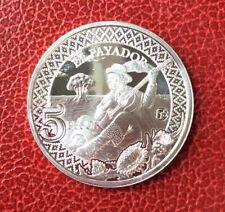 Argentine - Très Rare monnaie de 5 Pesos 2014 en Argent «El Payador» 1000 Ex.