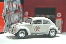 Greenlight Texaco Volkswagen Beetle - White - Loose - 1:64 - Bug