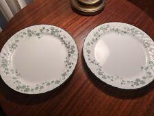 "SET OF 2 - CORNING CORELLE - CALLAWAY IVY - 10 1/4"" DINNER PLATES"