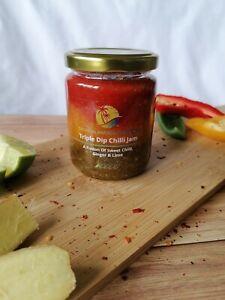 Triple Dip Chilli Jam (Homemade) - Tropical Paradise Presents