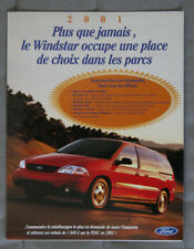 FORD WINDSTAR 2001 dealer brochure - French - Canada - ST1002001217