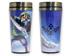 New Legend of Zelda Skyward Sword Travel Mug