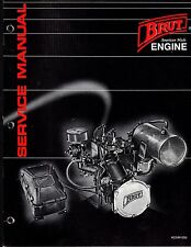 BRUT ENGINE MODEL BA44L1 WET JET WATERCRAFT SERVICE MANUAL NEW?  (722)