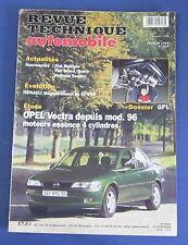 Revue technique  RTA 614 opel vectra depuis mod. 96 moteur essence 4 cyl.
