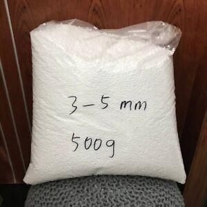 Filler Foam for Bean Bag 250/500g Beads Ballsbag White Toys Pillows Sofa Filler