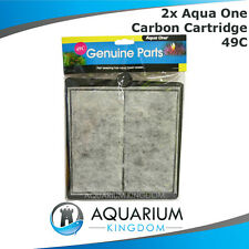 2x 25049C Aqua One Carbon Cartridge 49C - ClearView 800 Filter Media Clear View