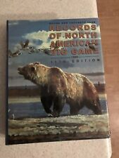 Records Of North American Big Game 11th Edition 1999