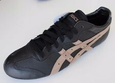 New Mens ASICS Onitsuka Whizzer LO Black Sneakers HY429 Retro Shoes Casual 40.5