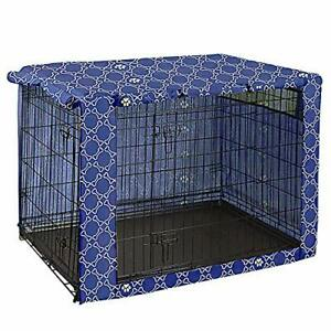 Large Waterproof Dog Crate Cover | For Large Wire Crates | 91x59x61cm