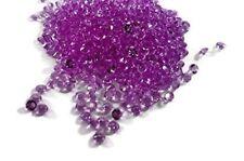 1000 pcs 4.5mm Purple Lavender Crystal Diamond Confetti Wedding Table Scatters D
