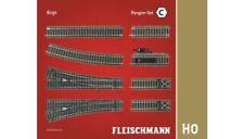 Modellbahnen der Spur H0 aus Set und Messing Gleismaterialien für