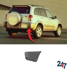 NEW TOYOTA RAV4 2000 - 2003 REAR BUMPER CORNER WITH ARCH FLARE HOLES RIGHT O/S
