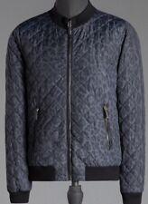 Dolce & Gabbana Animal Print Bomber Jacket Size 52 NWT $1795
