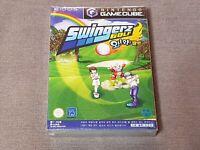 Ultra Rare Sealed Nintendo Gamecube Swingerz Wawa Golf Game Korea Collector Item