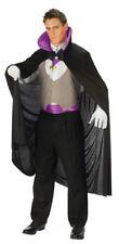 Deluxe Vampire Purple Halloween Adult Womens Mens Robe Cape Costume