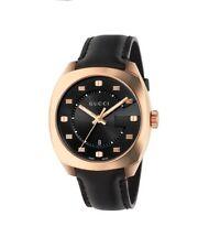 Gucci YA142309 Analog Display Swiss Quartz Black Men's Watch