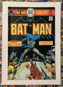 BATMAN #272 - FEB 1976 - ALFRED PENNYWORTH APPEARANCE! - FN- (5.5) CENTS COPY!