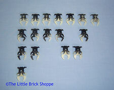 Lego Bionicle mini Visorak spiders from set 8758 Tower of Toa - glow-in-the-dark