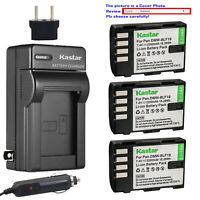 Kastar Battery AC Travel Charger for Panasonic DMW-BLF19 BLF19E Lumix DMC-GH3GK