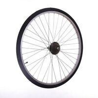 700c REAR Hybrid Bike / Cycle Wheel + 7 Speed Shimano Freewheel + TYRE & TUBE