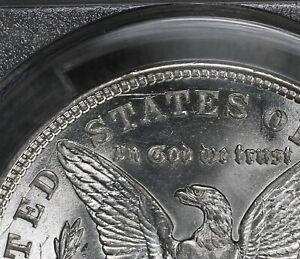 RARE Vam 1J 1921-D  Morgan Silver Dollar!   PCGS MS62!