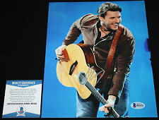 Chris Young signed 8 x 10, Think Of You, Im Comin Over, Tomorrow, Beckett BAS2