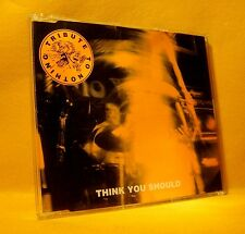 MAXI Single CD Tribute To Nothing Think You Should 3TR 1995 Altern. Rock Punk