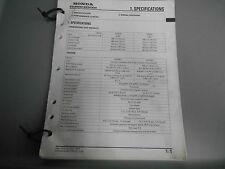 Honda Power Equipment Factory Shop Manual Generator EZ3500 EZ5000 1996