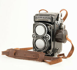ROLLEIFLEX 2.8E MODEL K7E, TLR 120 FILM CAMERA, S.N.1625586 JT